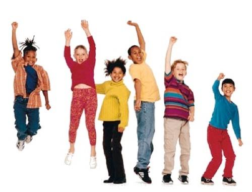 Упражнения для детей.
